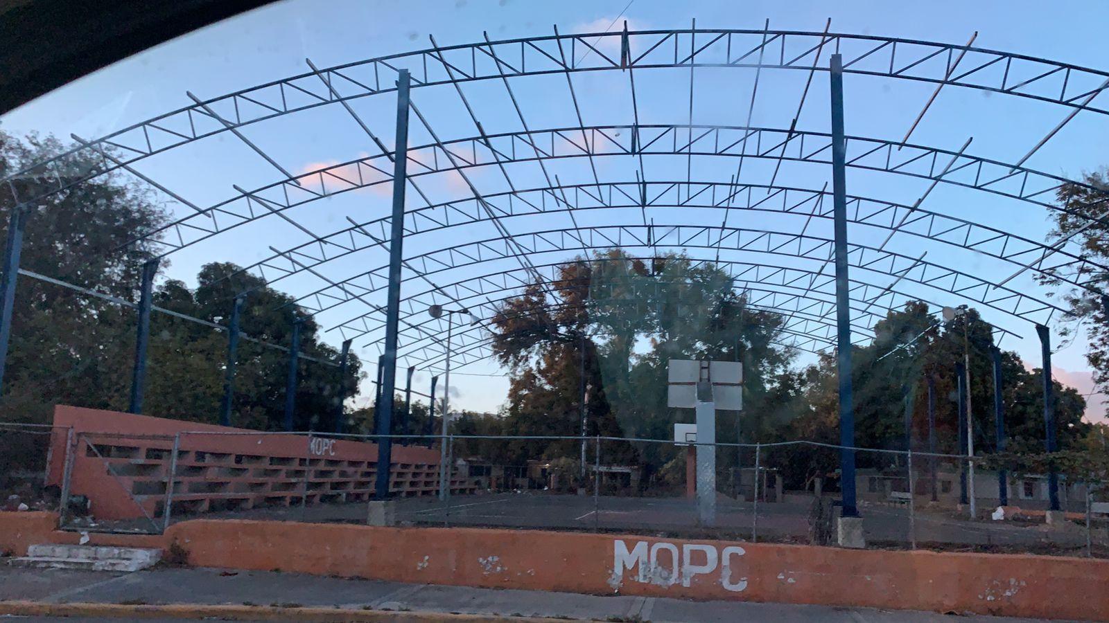 Techado del barrio Duarte.