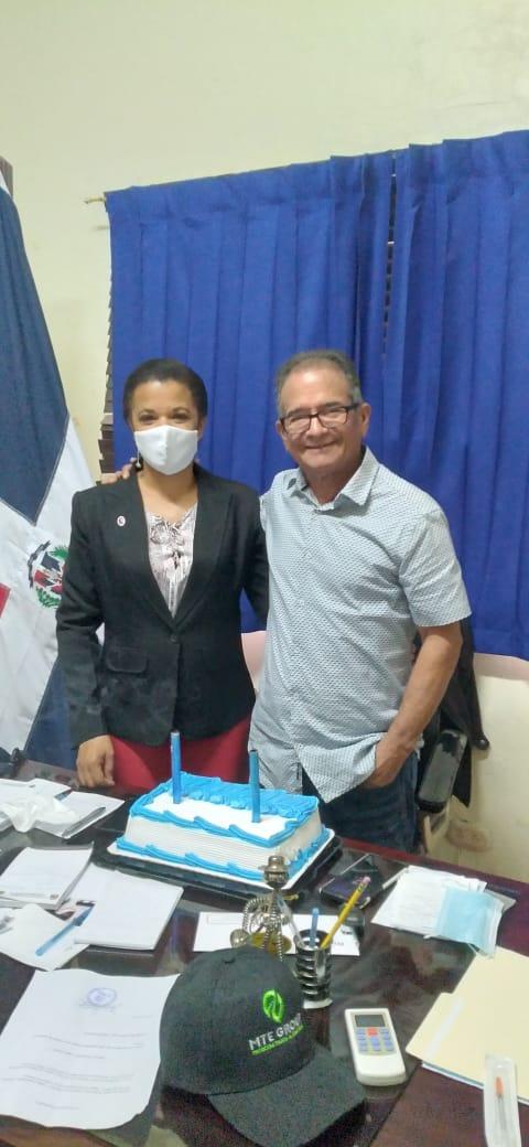 Cumpleaños del alcalde Tito Bueno.